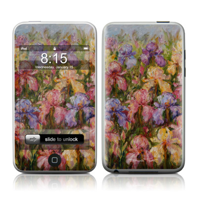 iPod Touch Skin - Field Of Irises