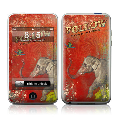 iPod Touch Skin - Follow Your Bliss