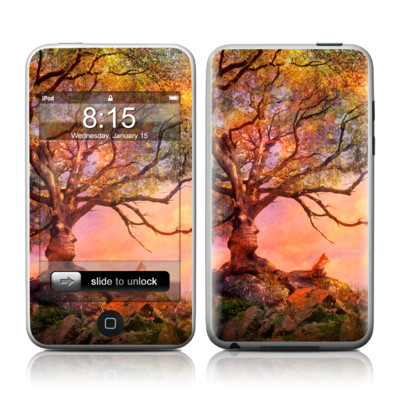 iPod Touch Skin - Fox Sunset