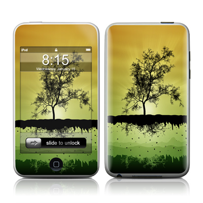 iPod Touch Skin - Flying Tree Amber