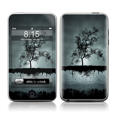 iPod Touch Skin - Flying Tree Black