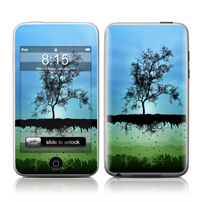 iPod Touch Skin - Flying Tree Blue