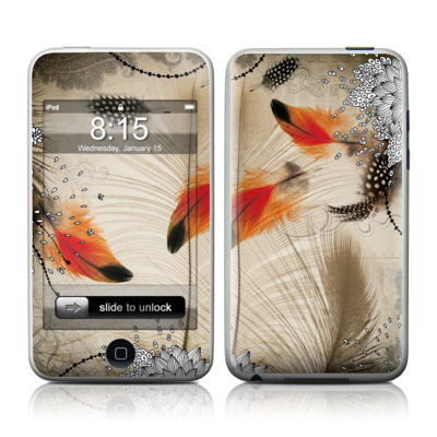 iPod Touch Skin - Feather Dance