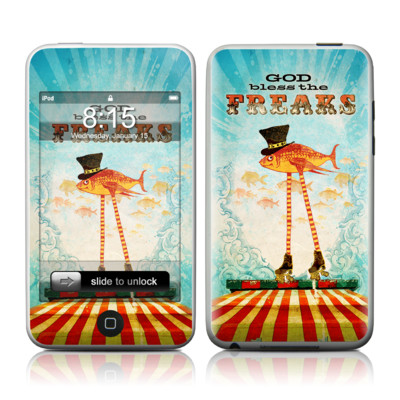 iPod Touch Skin - God Bless The Freaks