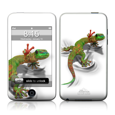 iPod Touch Skin - Gecko