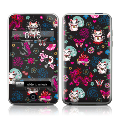 iPod Touch Skin - Geisha Kitty