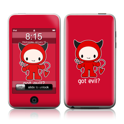 iPod Touch Skin - Got Evil