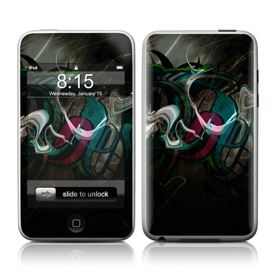 iPod Touch Skin - Graffstract