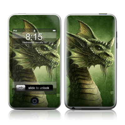 iPod Touch Skin - Green Dragon