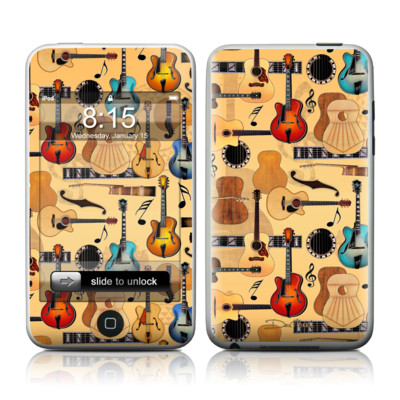 iPod Touch Skin - Guitar Collage