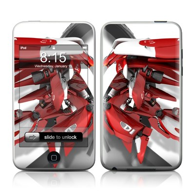iPod Touch Skin - Gundam Light