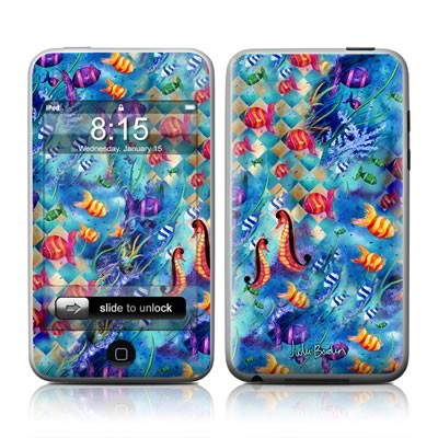 iPod Touch Skin - Harlequin Seascape