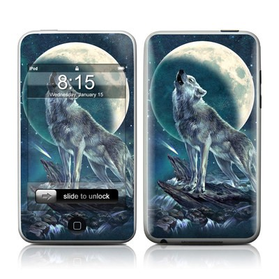 iPod Touch Skin - Howling Moon Soloist