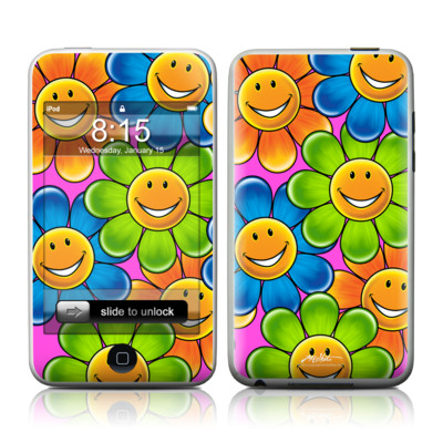 iPod Touch Skin - Happy Daisies