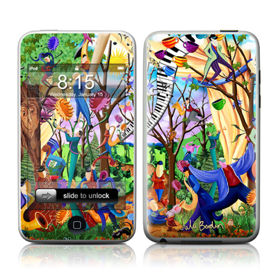 iPod Touch Skin - Happy Town Celebration