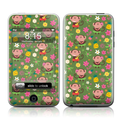 iPod Touch Skin - Hula Monkeys
