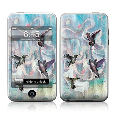 iPod Touch Skin - Hummingbirds