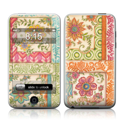 iPod Touch Skin - Ikat Floral