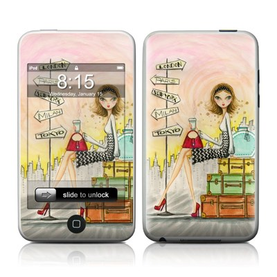 iPod Touch Skin - The Jet Setter