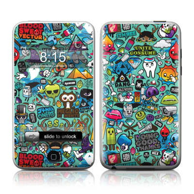 iPod Touch Skin - Jewel Thief