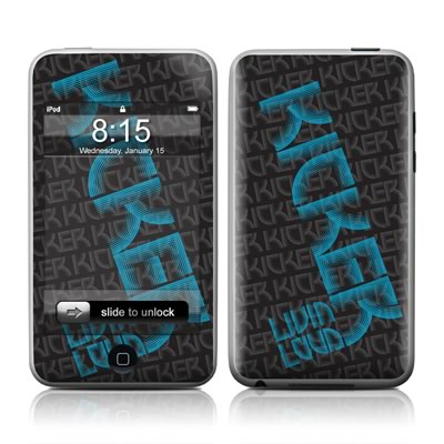 iPod Touch Skin - KICKER Wall