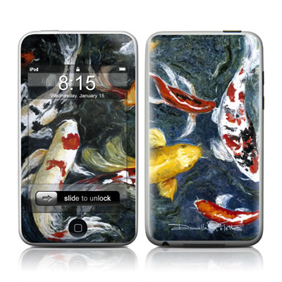 iPod Touch Skin - Koi's Happiness