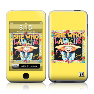 iPod Touch Skin - She Who Laughs