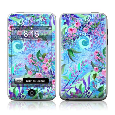 iPod Touch Skin - Lavender Flowers