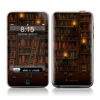 iPod Touch Skin - Library