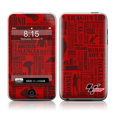iPod Touch Skin - Life of MotoGP