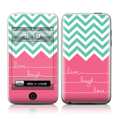 iPod Touch Skin - Live Laugh Love