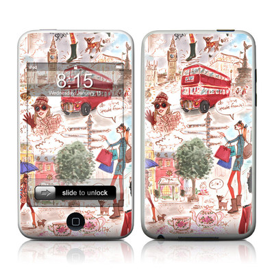 iPod Touch Skin - London