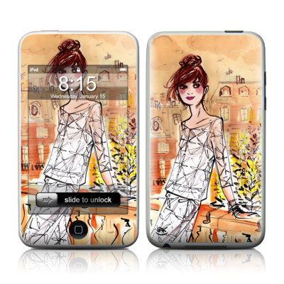 iPod Touch Skin - Mimosa Girl