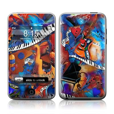 iPod Touch Skin - Music Madness