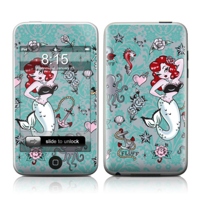 iPod Touch Skin - Molly Mermaid