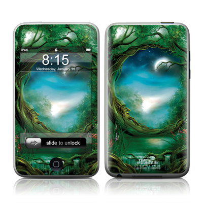 iPod Touch Skin - Moon Tree