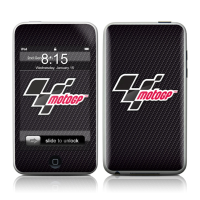 iPod Touch Skin - MotoGP Carbon Logo