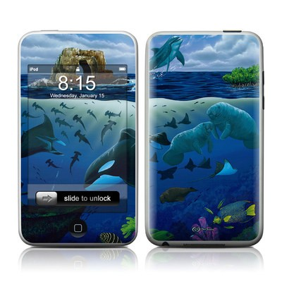 iPod Touch Skin - Oceans For Youth