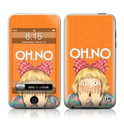 iPod Touch Skin - Oh No