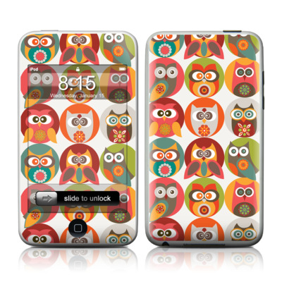 iPod Touch Skin - Owls Family