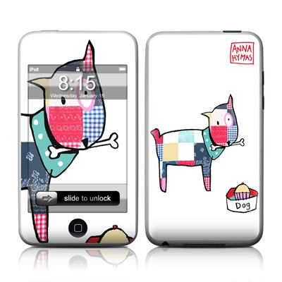 iPod Touch Skin - Patch Dog