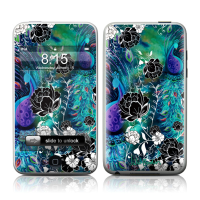 iPod Touch Skin - Peacock Garden