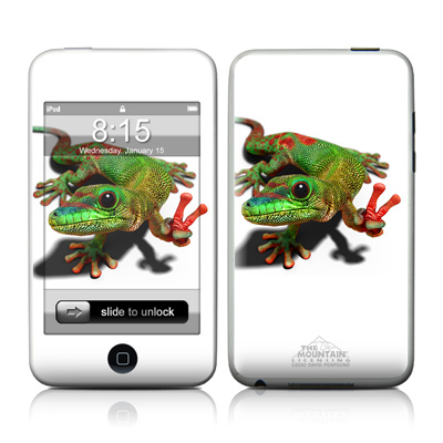 iPod Touch Skin - Peace Gecko