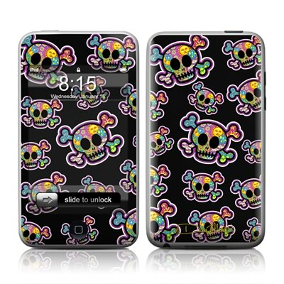 iPod Touch Skin - Peace Skulls