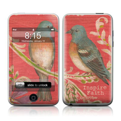 iPod Touch Skin - Fresh Picked Fuschia