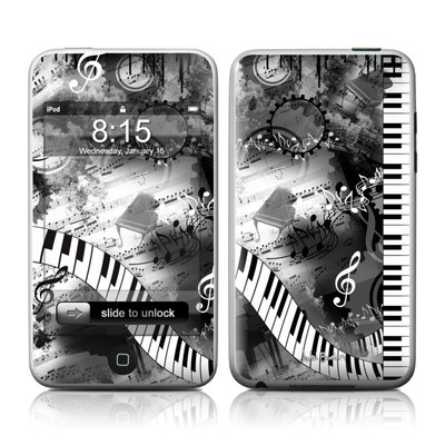 iPod Touch Skin - Piano Pizazz