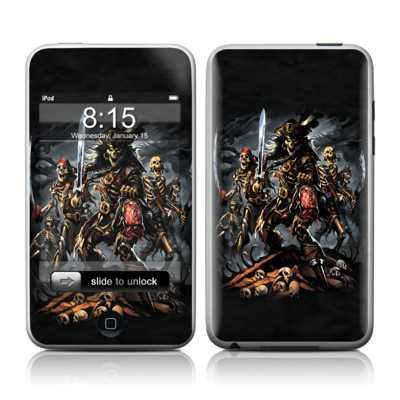iPod Touch Skin - Pirates Curse