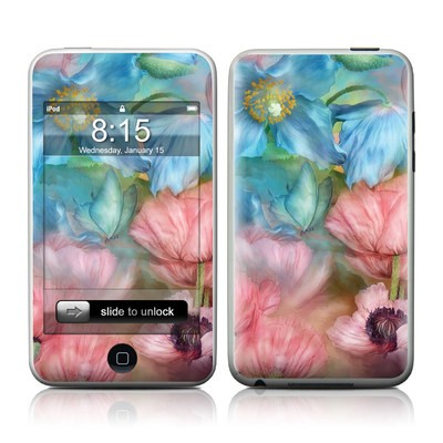 iPod Touch Skin - Poppy Garden