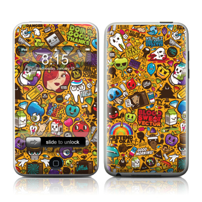 iPod Touch Skin - Psychedelic