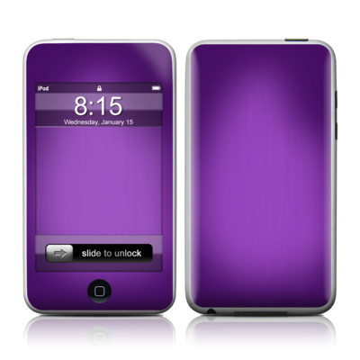 iPod Touch Skin - Purple Burst